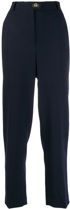 Salvatore Ferragamo High-Waisted Trousers