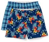 Tommy Bahama Floral & Plaid Boxer - Set of 2