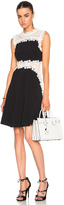 Giambattista Valli Lace & Crepe Cady Dress