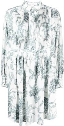 See by Chloe Floral-Print Shirt Dress