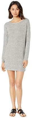 Billabong Reset Button Dress (Ash Heather) Women's Clothing