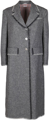 Thom Browne Grey Wool Coat
