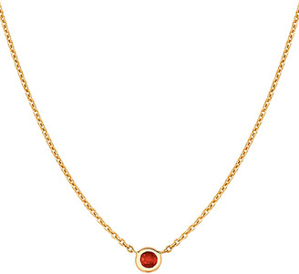 Ariana Rabbani 14K 0.10 Ct. Tw. Ruby Solitaire Necklace