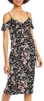 Oasis Royal Worcester Collection Sadie Wrap Sun Dress, Multi