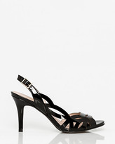 Le Château Patent Leather Half d'Orsay Slingback