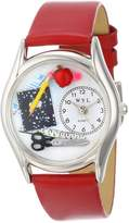Whimsical Watches Women's S0640002 Teacher Red Leather Watch