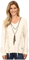 Double D Ranchwear Lone Feather Top
