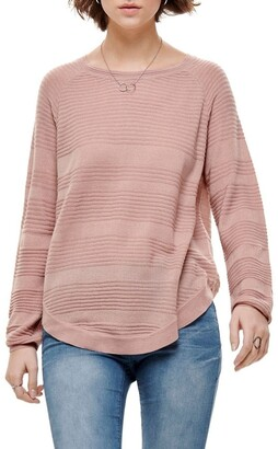 Only Caviar Long Sleeve Pullover Knit Dusty