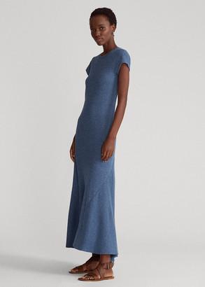 Ralph Lauren Cap-Sleeve Henley Dress