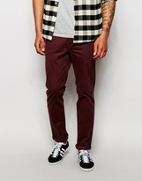 Cheap Monday Slack Chinos Slim Fit - Red