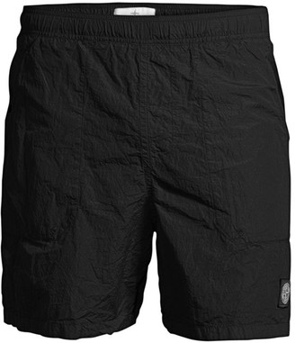 Stone Island Crinkled Swim Shorts