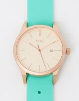 Matte Rose Gold & Mint Watch