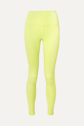 YEAR OF OURS Yos Stretch Leggings - Chartreuse