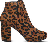 Miss KG Sphinx animal print ankle boot
