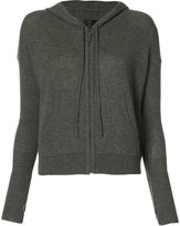 Nili Lotan zip hooded cardigan