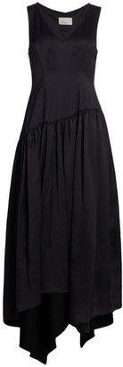 3.1 Phillip Lim Plunge V-Neck Long Dress