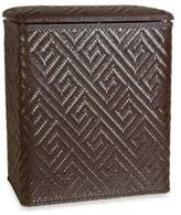 Lamont Home Athena Upright Hamper in Chocolate