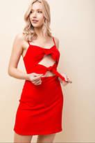 Honey Punch Red Mini Dress