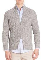 Brunello Cucinelli Donegal Virgin Wool, Cashmere & Silk Sweater