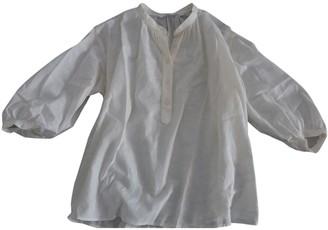 Uniqlo White Linen Top for Women