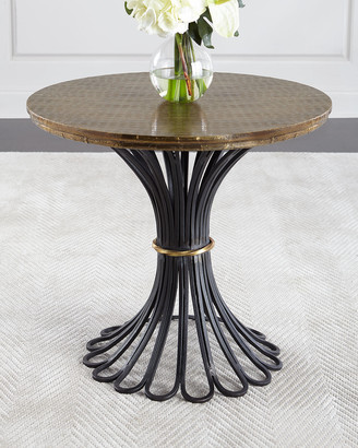 Arteriors Alber Antiqued Side Table