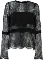 Ungaro lace blouse