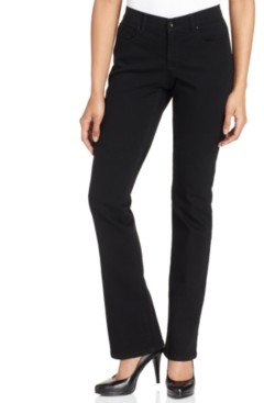 Style&Co. Style & Co Petite Tummy-Control Mid-Rise Bootcut Jeans, Created for Macy's