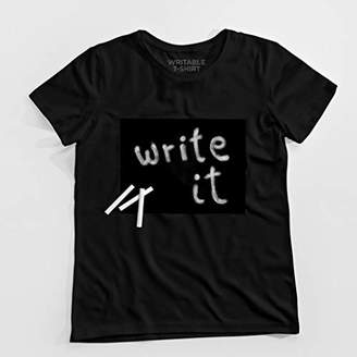 Design Studio March T-Shirt which can be Written with Chalk [Cotton Twitter]
