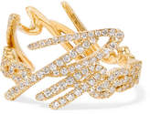 Stephen Webster + Tracey Emin More Passion 18-karat Gold Diamond Ring