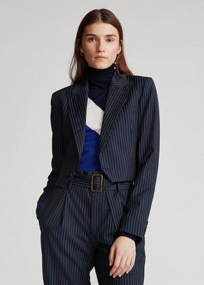Ralph Lauren Cropped Wool Blazer