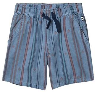 Splendid Littles Icon Stripe Shorts (Toddler/Little Kids/Big Kids) (Blue Shadow) Boy's Shorts