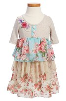Truly Me Tiered Dress (Little Girls & Big Girls)
