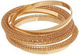 Apt. 9 Mesh Bangle Bracelet Set