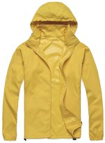 Alafen Unisex Lightweight Waterproof Sun Protection Jacket Skin Windbreaker XXX-Large