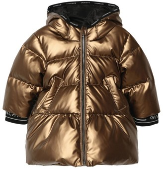 Givenchy Kids Metallic Puffer Coat (6-36 Months)