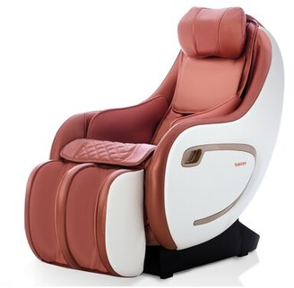 TOKUYO Reclining Heated Full Body Massage Chair Upholstery Color: Red