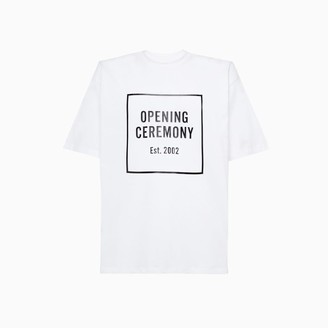 Opening Ceremony Box Logo T-shirt Ymaa001f20jer007
