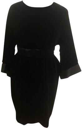 Musso Roberto \N Black Velvet Dress for Women