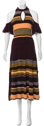 Apiece Apart Knit Striped Dress w/ Tags