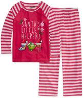 SHOPKINS Shopkins Girls Long Sleeve Pant Pajama Set-Big Kid