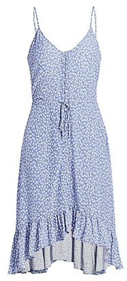 Rails Frida Daisy-Print High-Low Dress