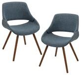 Lumisource Frabrico Mid-Century Modern Chair (Set of 2)