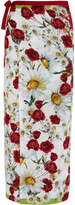 Dolce & Gabbana Printed voile pareo