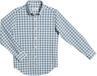 Peter Millar Boy's Gingham Button-Down Shirt, Size XS-XL