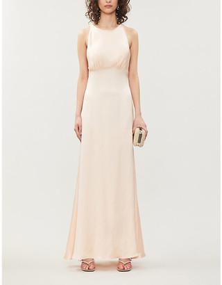 Selfridges Vanessa Cocchiaro Mary sleeveless woven gown