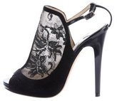 Jimmy Choo Maylen Lace Booties