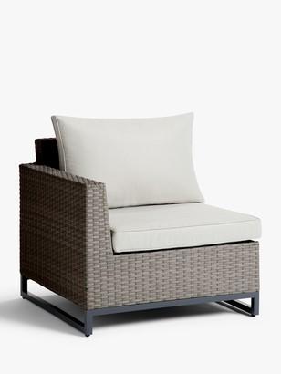John Lewis & Partners Valencia Garden Right End Modular Chair Unit
