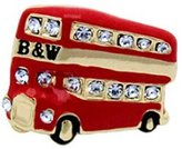 Butler & Wilson Butler and Wilson Small Crystal London Bus Pin Brooch