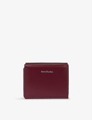 Acne Studios Fold leather wallet