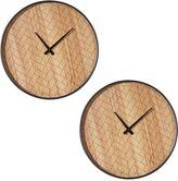 Amalfi by Rangoni Bruce Wall Clock (Set of 2)